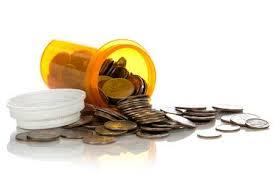 dinero tubo medicinas